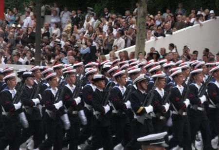 14 juillet à Paris - le défilé