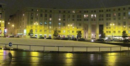 La neige sur Montparnasse