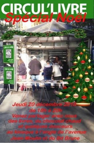 circul'livres jean moulin porte d'orléans noel 2018 20 déc .JPG
