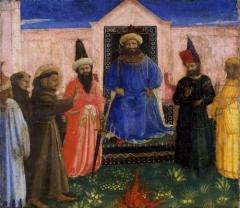 Saint François d' assise et le Sultan  Angelico_san_francesco_fa_la_pova_del_fuoco_davanti_al_sultano.jpg