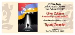 Librairie Ithaque 9 juin 2017 dédicace de Olivier Delorme  tigrane l' arménien.jpg