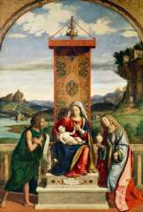Exposition cima da Conegliano vierge à l'enfant avec paysage derrière.jpg