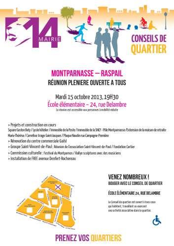 Conseil de quartier  Montparnasse Raspail  réunion plénière 15 oct.jpg