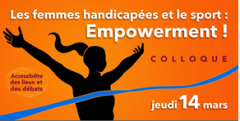 colloque les femmes handicapées et le sport  jeudi 14 mars 2019 empowerment.PNG