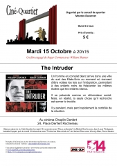 Cinéquartier mouton- duvernet 15 oct 2019  the Intruder de Roger Corman.jpg