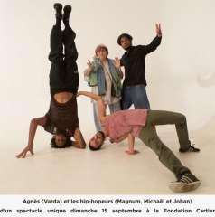agnès varda,société tamaris,fondation cartier pour l' art contemporain
