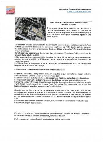 la rochefoucauld parc à conserver voeu du conseil de quartier mouton- duvernet.jpg