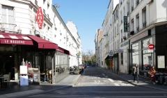rue Roger vue  de la rue Daguerre.JPG