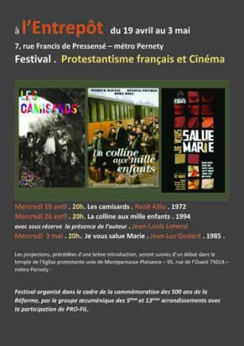 l'Eglise protestante unie de Montparnasse-Plaisance – 95, rue de l'Ouest 75014,l'entrepôt 7 rue francis de pressensé,