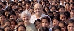 christian et marie- france des pallières,pour un sourire d'enfant,cambodge,xavier de lauzanne