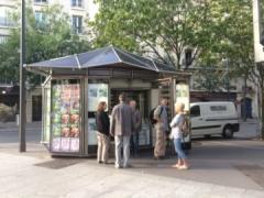 circul'livres jean moulin porte d'orléans kiosque au croisemnt du bd brune et av jean moulin.JPG