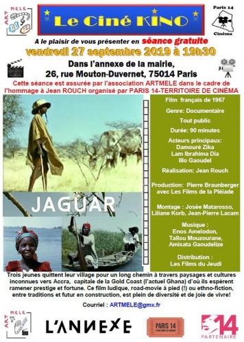 Cinékino 27 sept 2019 jaguar de Jean Rouch.jpg