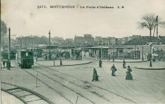 Arpajonnais MONTROUGE les installations de  La Porte d'Orléans.JPG