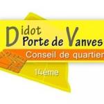 conseil de quartier didot - porte de vanves 75014