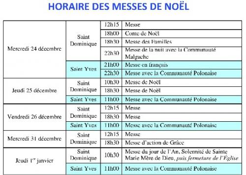 Saint Dominique horaires de Noël 2014.jpg