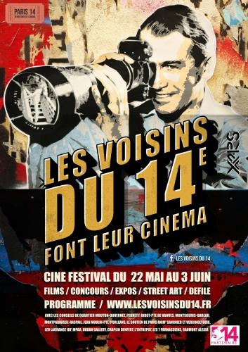 les voisins du 14ème font leur cinéma  affiche 22 mai au 3 juin recto.jpg