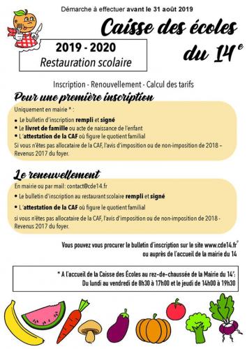 Caisse des ecoles   du 14ème restauration scolaire inscriptions avant le 31 août.png