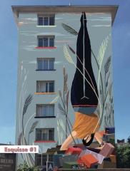 fresque de la rue du Père Corentin esquisse1 femme à l'envers.jpeg