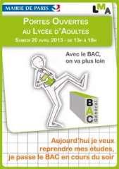 Lycée municipal d'adultes journée portes ouvertes 20 avril 2013.jpg