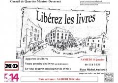 conseil de quartier Mouton-Duvernet, Libérez les livres,  Circul'livre