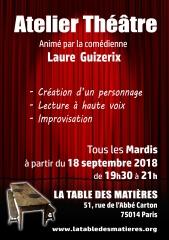 La table des Matières atelier theatre à partir du 18 septembre2018 mardis de 19h30 à 21h.jpg