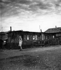 expophoto Robert Doisneau à la fondation Henri Cartier Bresson bidonville à Ivry.jpg