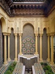 Cité internationale visite d'une Cité d'artistes 14 mai 2017 la Maison du maroc.jpg