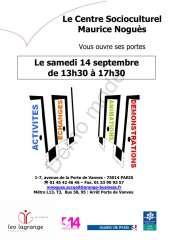 Portes Ouvertes du centre social Maurice Noguès 2013.jpg