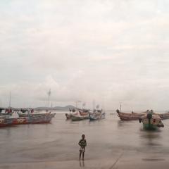 Camera Obscura expo Denis Dailleux 27 octobre - décembre 2016 enfant pêcheur Ghana.jpg