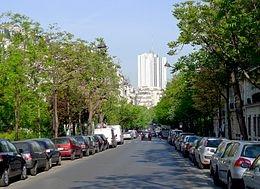 rue froidevaux,plan vélo à paris
