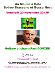 Moulin à Café 20 novembre Georges Brassens et Bossa nova.jpg