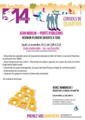 Conseil de quartier  Jean Moulin  Porte d'Orléans réunion plénière 14 novembre 2013.jpg