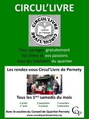 Circu'livre Pernety, conseil de quartier  pernety