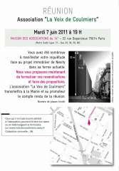 réunion 7 juin au sujet des projets de construction rue de Coulmiers et rue  Friant.JPG