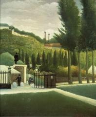 le douanier rousseau a-t-il peint l'octroi de la Porte de Vanves.jpg
