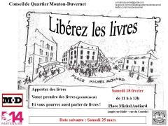 Conseil de quartier, Circul'livres, place Michel Audiard 75014