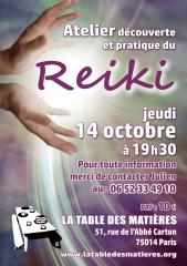 reiki, généalogie, atelier numérique