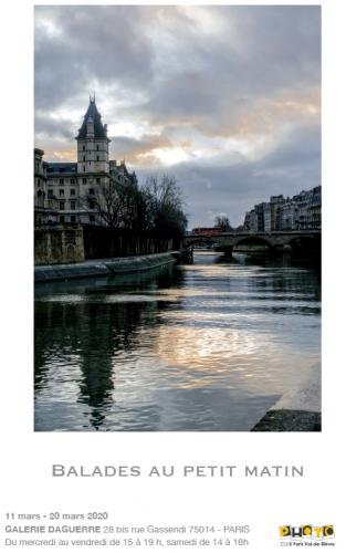 Galerie Daguerre 11 au 20 mars 2020 Balades du petit matin.png