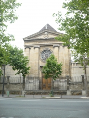 chapelle  de l'hôpital saint vincent de Paul 72- 74 avenue Denfert- rochereau.JPG