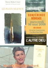 librairie franciscaine 16 mai 2018  marion muller -Colard.jpg