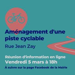 aménagement piste cyclable rue Jean Zay réunion 5 mars 18h.png