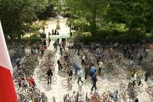 Bourse aux vélos,association MDB