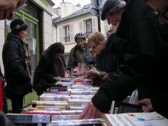 Circul'livres , libérez les livres, conseil de quartier mouton- duvernet 75014