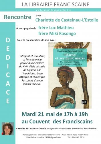 librairie franciscaine 21 mai 2019 rencontre dédicace avec charlotte castenau-l'estoile.jpg