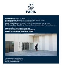 portes ouvertes du nouveau conservatoire Darius Milhaud 30 novembre 2019.jpg
