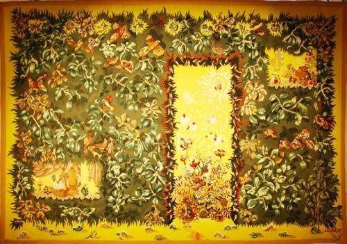 céramique,tapisserie,jean lurçat,galerie des gobelins