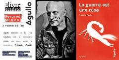 le livre Ecarlate 28 novembre 2018 rencontre avec Frédéric Paulin pour la guerre est une ruse.jpg