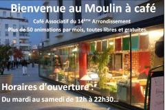 le moulin à café café associatif paris 14ème