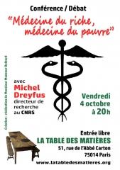 la table des matières conférence 4 oct 2019 médecine du riche, médecine du pauvre.jpg