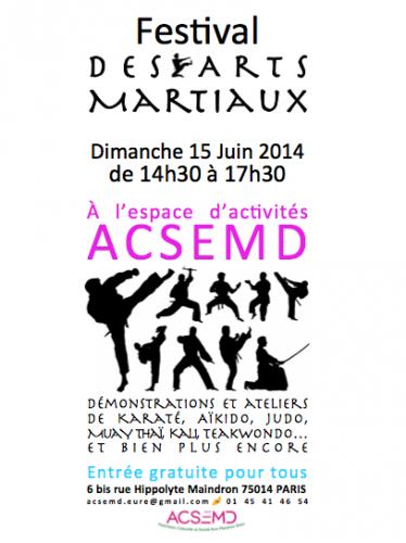 festival des arts martiaux 6bis rue Hippolyte Maindron.png
